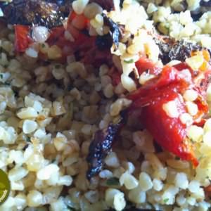 facile à cuisiner Pilpil aux légumes confits recette de