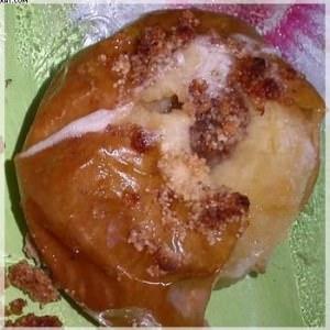 rapide à cuisiner Pommes fourées façon crumble préparer la recette