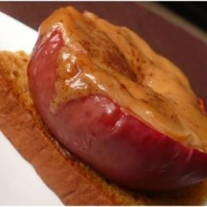 rapide Pommes rôties et son puits de caramel recette de