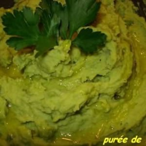 facile Purée de fèves recette végétarienne