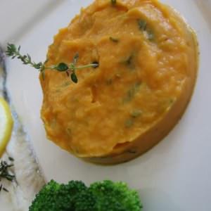 facile Purée de patate douce et fenouil préparation