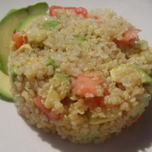simple à cuisiner Salade quinoa avocat recette de