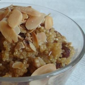simple à cuisiner Quinoa vanillée préparation