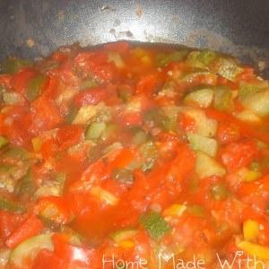 rapide à cuisiner Ratatouille double tomate recette de