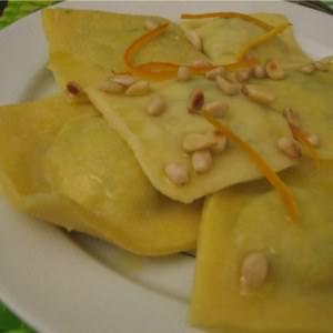 rapide Raviolis king size épinards-tofu préparation