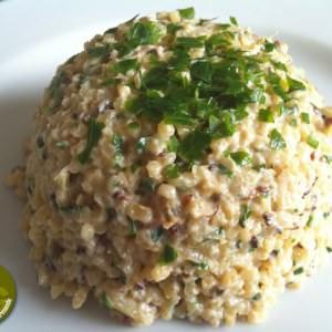 simple à cuisiner Risotto de boulgour-courgettes au sésame préparer la recette