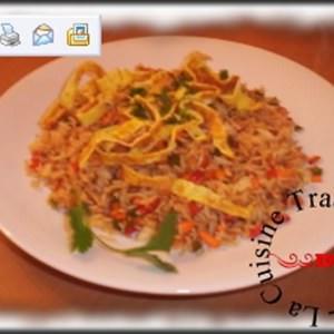 facile à cuisiner Riz frit recette végétarienne