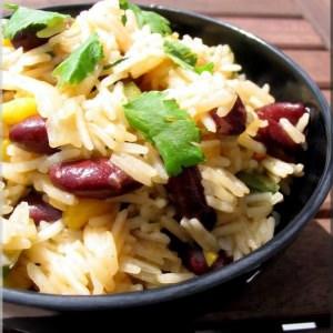 facile à cuisiner Riz sauté aux haricots épicés recette de
