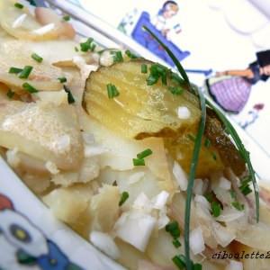 simple à cuisiner Salade de pomme de terre alsacienne recette de