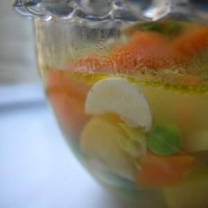 simple à cuisiner Soupe désintox recette végétarienne