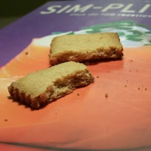 simple à préparer Sablés à la crème d'avoine  recette végétarienne