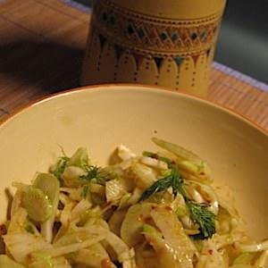 rapide Salade de fenouil recette