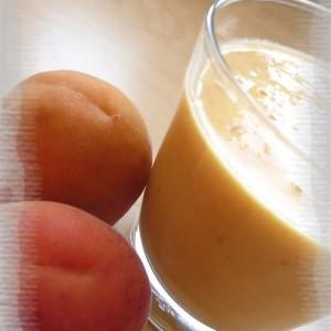 facile Smoothie à l'abricot & à la mangue recette végétarienne