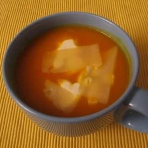 rapide à cuisiner Soupe Potimarron - Poivron cuisiner la recette