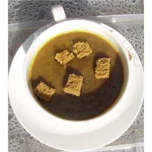 simple à cuisiner Soupe au pain d'épices recette végétarienne