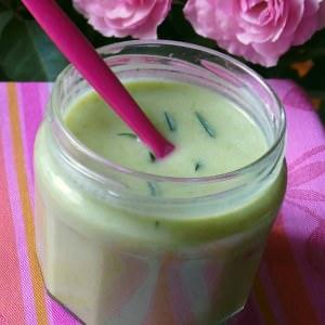 rapide Soupe d'été au chou romain,yaourt de brebis et sarriette préparation