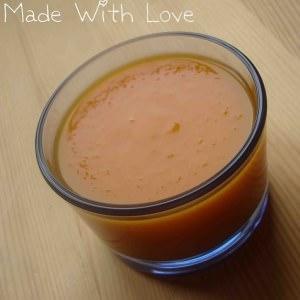 simple à cuisiner Soupe de carottes à l'orange recette