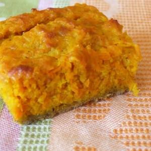 simple à cuisiner Tarte à la carotte et au curry recette végétarienne