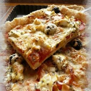 rapide à cuisiner Tarte à la tomate cuisine végétarienne