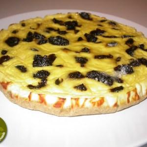 simple à préparer Tarte au Fromage blanc & aux Pruneaux cuisiner la recette
