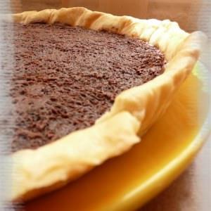 simple à préparer Tarte au chocolat recette de