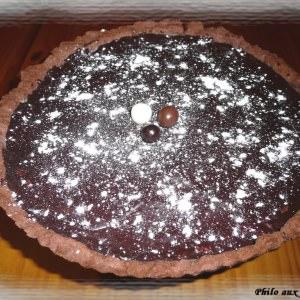 facile à cuisiner Tarte chocolat et noix de coco recette