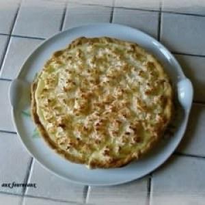 simple à cuisiner Tarte au citron et sa neige de coco préparation