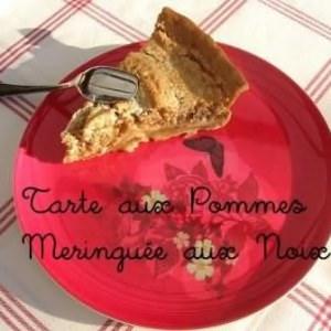 rapide à cuisiner Tarte aux pommes meringuée  préparer la recette