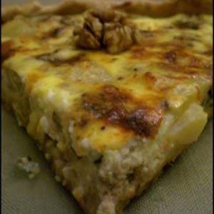 rapide à cuisiner Tarte au roquefort et aux poires préparer la recette