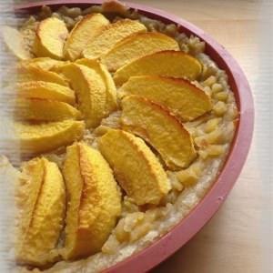 rapide à cuisiner Tarte aux pommes à la Normande recette végétarienne