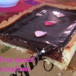 facile Tarte chocolat - cointreau cuisiner la recette