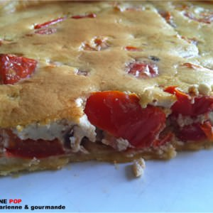 rapide Tarte fromagère tomates figues recette