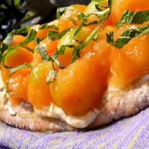 rapide Tartine étonnante au Melon recette de