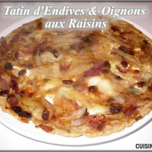 facile Tatin d'Endives et d'oignons cuisiner la recette