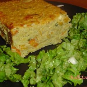 simple à préparer Terrine millet,carottes et coriandre préparation