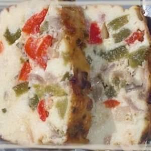 facile à cuisiner Terrine de poivrons au chèvre frais recette végétarienne