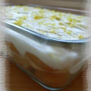 facile Tiramisu au citron recette végétarienne