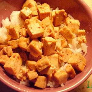 facile à cuisiner Tofu à la confiture d'églantine recette de