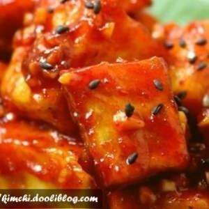 facile à cuisiner Tofu épicé préparer la recette