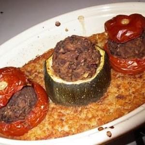 facile Tomates farcies aux Lentilles recette