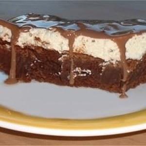 facile à cuisiner Triple choc brownie crunch recette