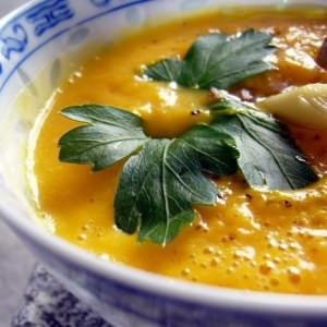facile Velouté de carottes à la citronnelle recette de