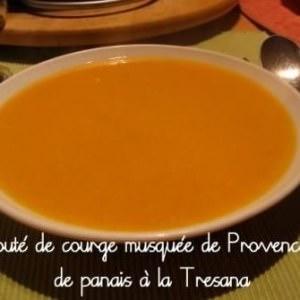 rapide Velouté de courge musquée de Provence et de Panais à la... recette