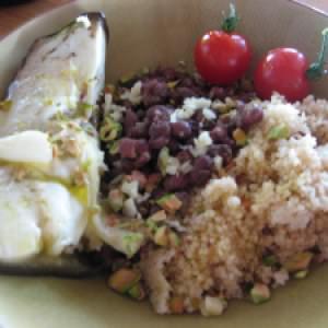 rapide à cuisiner Azukis au gingembre et à la pistache cuisiner la recette
