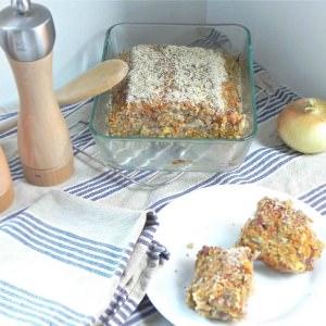 simple à cuisiner Bean Loaf préparation