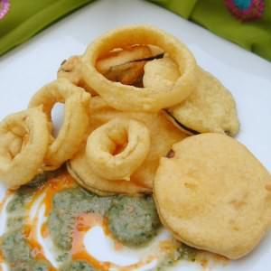 rapide à cuisiner Beignets indiens aux légumes préparer la recette