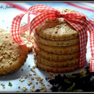 rapide Biscuits au sésame et aux algues préparer la recette