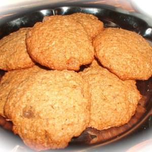 rapide à cuisiner Biscuits au son d'avoine et au gingembre confits recette végétarienne