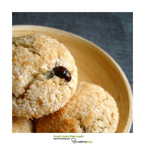 rapide Biscuits Coco recette