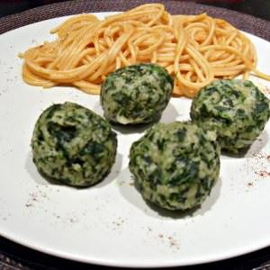 facile Boulettes d'épinards recette végétarienne
